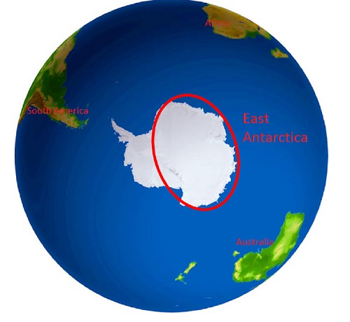 18 March 2015 Where is East Antarctica PolarTREC