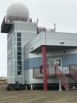 The Barrow Arctic Research Center (BARC) is run by Ukpeaġvik Iñupiat Corporation (UIC) in Utqiaġvik, Alaska. Photo by Ruth Rodriguez.