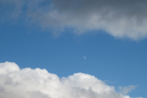 Moon at Toolik