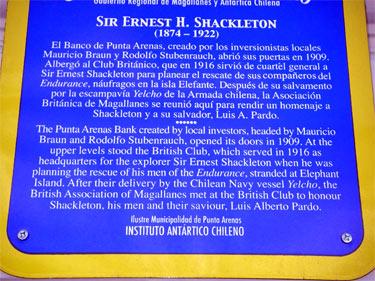Shackleton sign
