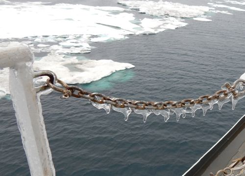 ice and chain