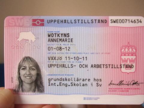 Swedish Work Permit