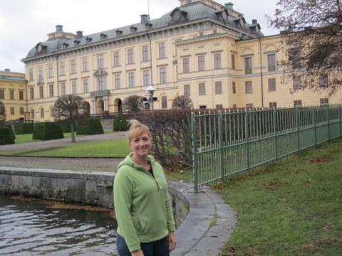 Anne Marie at Drottningholm