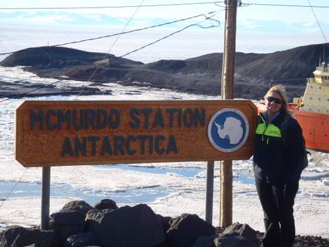At McMurdo Station