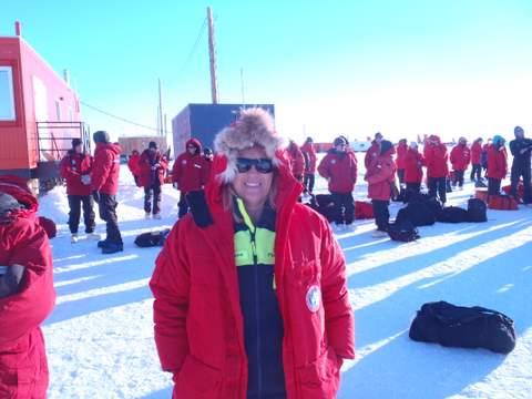 At the Ice Runway