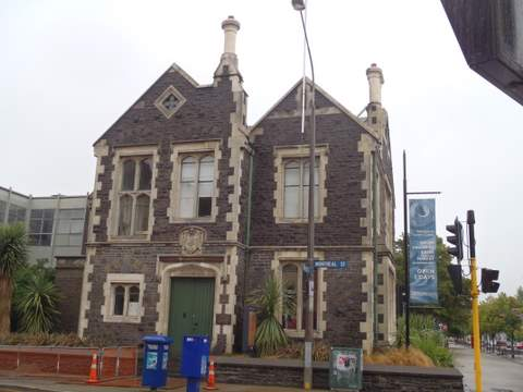 Buildings in Christchurch
