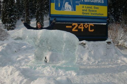 Temperatura: –24 °C (–11 °F)