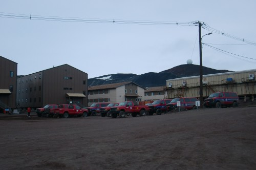 Yet another view of McMurdo at midnight.