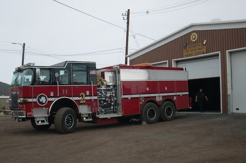 The Antarctic Fire Department.  There are actual firefighters in Antarctica!
