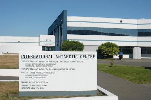The International Antarctic Center, where the Clothing Distribution Center (CDC) is located.