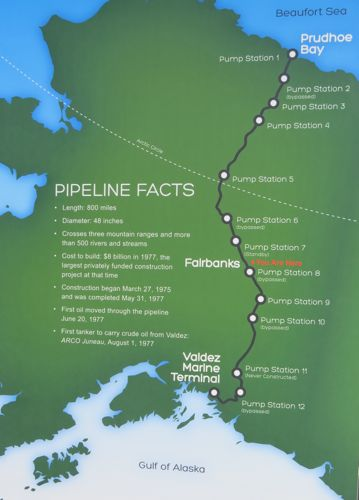 30 March 2013 Pipelines, Permafrost and Polar Sundaes   PolarTREC