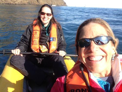 Kayaking in Disko Bay