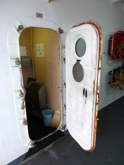 Open Watertight Door