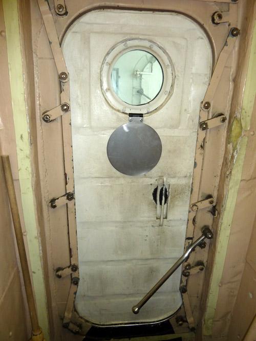 Closed Watertight Door