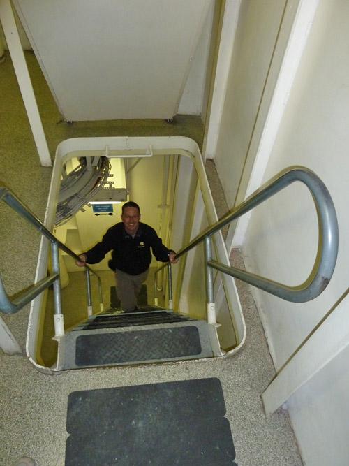 Ladder Between Decks