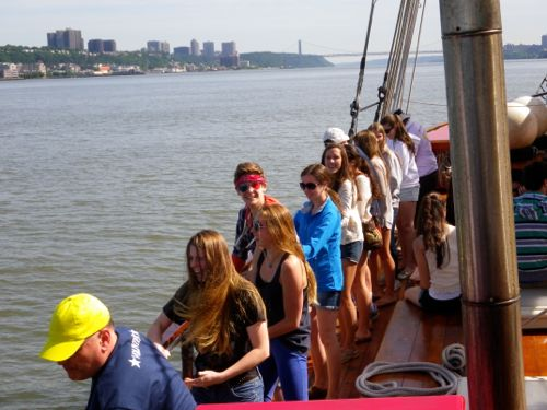 Sailing on the Hudson