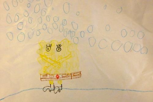 SpongeBob from Ross