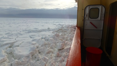 Ice for miles