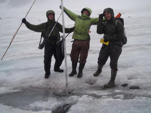 Glacier research.