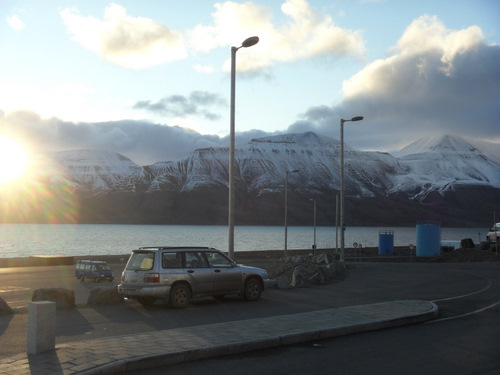 A view from the Svalbard airport!