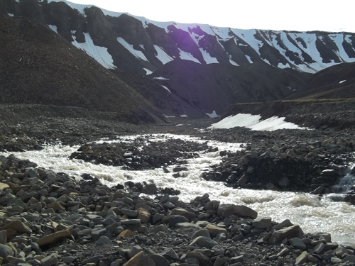 Meltwater Stream at Larsbreen
