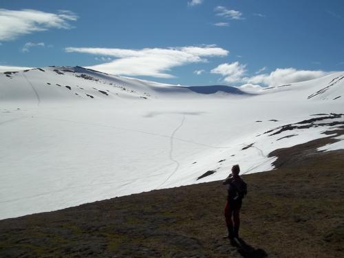 Larsbreen Glacier