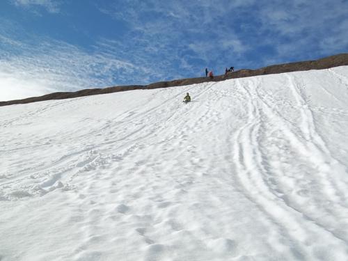 Dion sledding