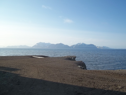 View out to Isfjord