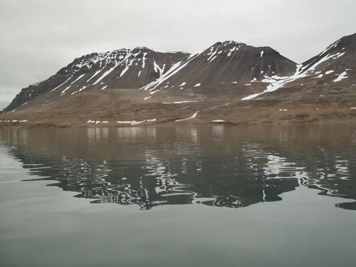 Glassy Surface of Lake Linne