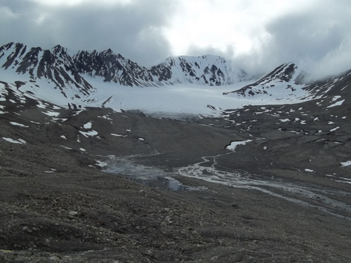 View of Linnebreen from LIA moraine