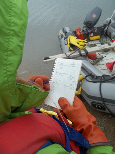 Helena's Field Notes for Buoy Deployment