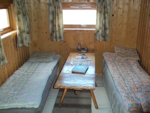 North half of the 8' x 10' cabin...