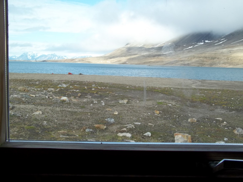 View from the cabin...