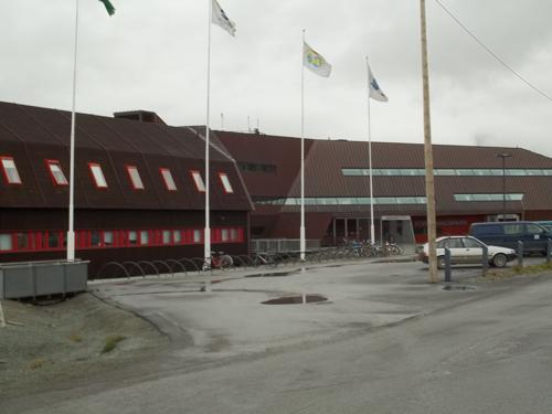 UNIS front entrance