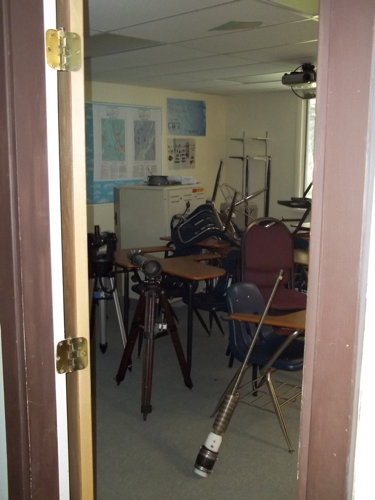 My classroom needs some work.