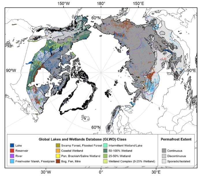 Geographic Range of Permafrost