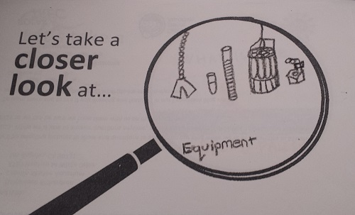 Closer look equipment