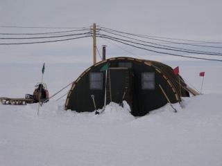 This is one of our tents or jamesways that uses a preway as a heat source. & 21 December 2010 Heat-how do we get warm at WAIS? | PolarTREC