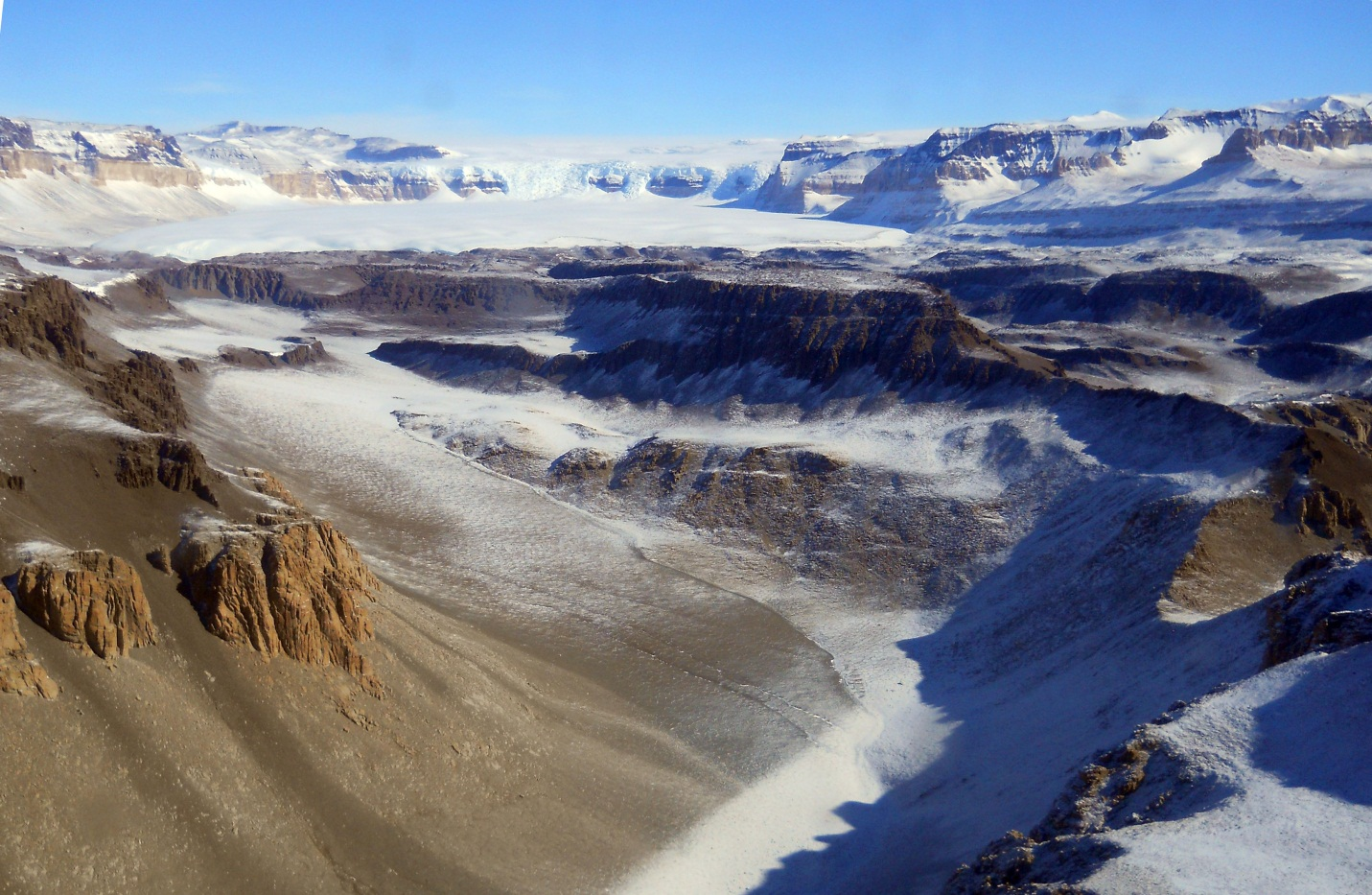 Buried Ice In Antarctica 2012 Photo Gallery