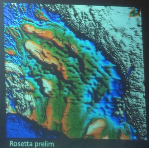 Sea Floor Elevation Data : November rosetta ice pod polartrec