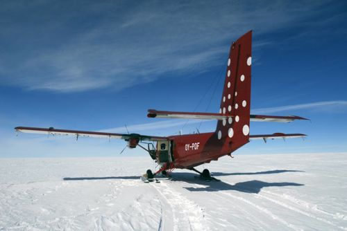 Air Greenland - Ski-equipped Twin Otter