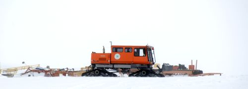Snow machine at Summit Station
