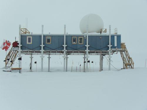 The Big House - Summit Station, Greenland