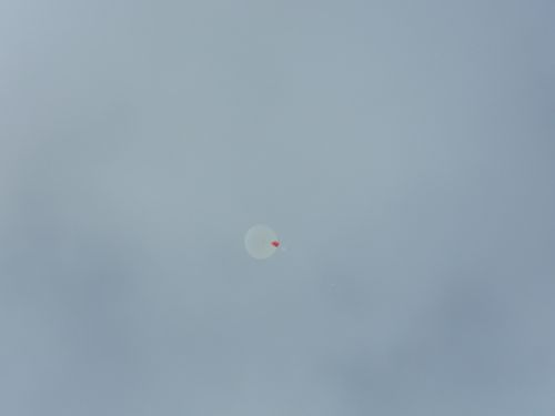 NOAA weather balloon