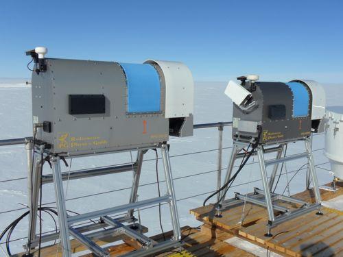 NOAA Cloud measuring instruments
