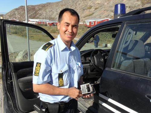 Kangerlussuaq Policeman