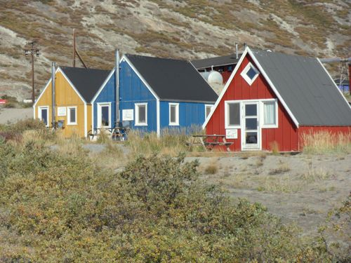 Typical Greenland homes.