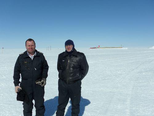 Norlandair pilots - Valdi and Raggi