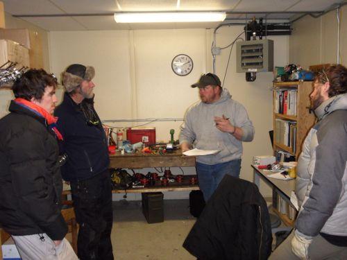 Snow Machine training by Luke the mechanic