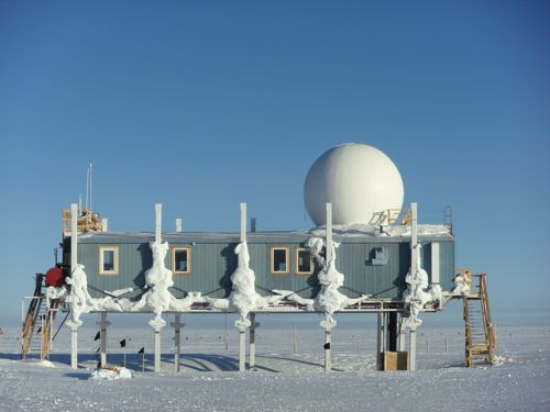 Big House - Summit Station, Greenland